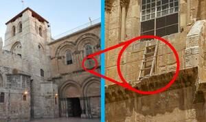 Κανείς δεν επιτρέπεται να μετακινήσει αυτή τη σκάλα – Δείτε γιατί! (video)