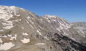 Καιρός: Επεσε το πρώτο χιόνι στις κορυφές του Παρνασσού... (photo)