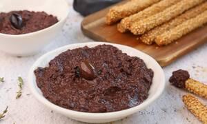 Η συνταγή της ημέρας: Πατέ ελιάς (tapenade)