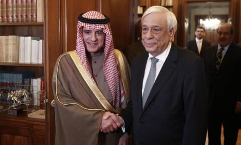 Παυλόπουλος: Η Ελλάδα δίνει μεγάλη σημασία στις σχέσεις της με τη Σαουδική Αραβία