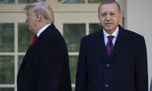 Τραμπ για Ερντογάν: Είμαστε καλοί φίλοι – Σε εξέλιξη η συνάντησή τους – Τι συζητούν