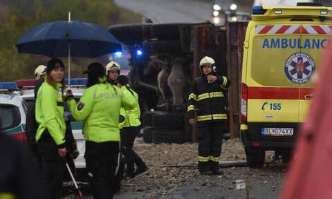 Σλοβακία: Τουλάχιστον 12 νεκροί και 20 τραυματίες στο «δρόμο του θανάτου»