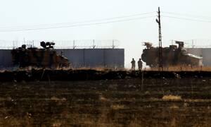 Συρία: Η Τουρκία εξαπέλυσε επίθεση στην Ταλ Ταμρ κατά τη διάρκεια της συνάντησης Ερντογάν-Τραμπ