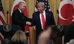«Πόλεμος» Τραμπ - Ερντογάν on camera: Από τα κομπλιμέντα στα… καρφιά! (pics+vid)
