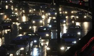 Κόλαση στην Εθνική Οδό Αθηνών - Λαμίας λόγω τροχαίου - Ουρές χιλιομέτρων