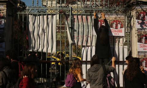 Πολυτεχνείο 2019: Άνοιξαν οι πύλες – Κλειστοί δρόμοι και 5.000 αστυνομικοί επί ποδός