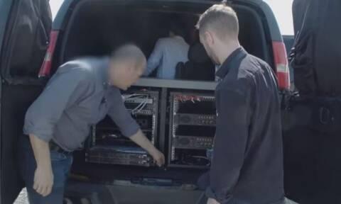 Κύπρος: Υπερσύγχρονο κατασκοπευτικό φορτηγάκι «κόβει» βόλτες στην Λάρνακα