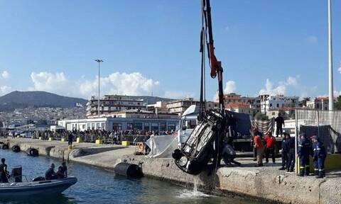 Μυτιλήνη: Αυτοκίνητο έπεσε στο λιμάνι - Νεκρός ο οδηγός