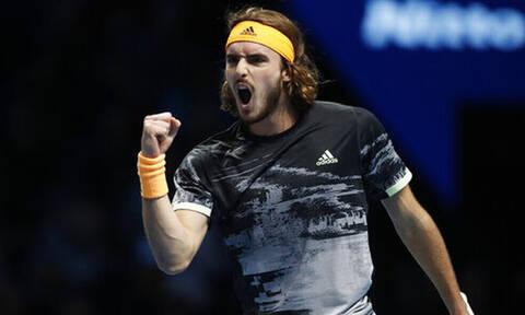 ATP FINALS: Το πάλεψε αλλά λύγισε ο Τσιτσιπάς