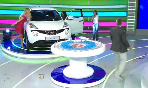 «Τροχός της Τύχης»: Αυτή είναι η κοπέλα που κέρδισε το αυτοκίνητο (video)