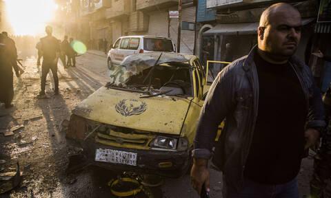 Μακελειό στη Συρία: Βομβιστική επίθεση με νεκρούς και τραυματίες (vid)