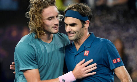 LIVE Φέντερερ - Τσιτσιπάς 0-1: Η μεγάλη μάχη του ημιτελικού στο ATP Finals