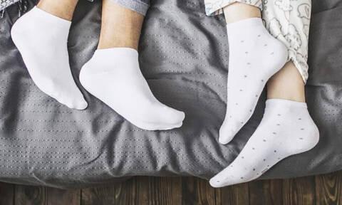 Κοιμάσαι με τις κάλτσες σου; Σου έχουμε νέα