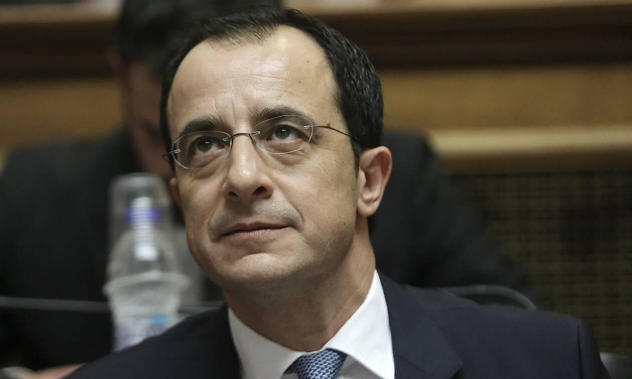 Συνάντηση Πομπέο - Χριστοδουλίδη: Στην ατζέντα οι τουρκικές προκλήσεις και το Κυπριακό