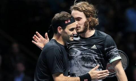 «Υποκλίθηκε» ο Φέντερερ: «Ήταν καλύτερος! Με έκανε να παίξω τένις επιπέδου»