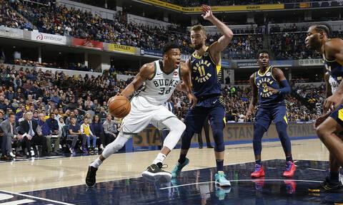 NBA: Δεν πιάνονται Μπακς και Αντετοκούνμπο! (video+photos)