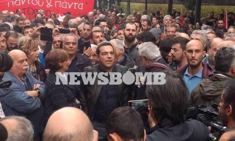 Πολυτεχνείο 2019 - Αλέξης Τσίπρας: Ο πρώτος πρώην πρωθυπουργός που συμμετέχει στην πορεία (pics)