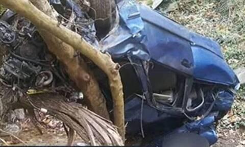 Τραγωδία Κατερίνη: Νέες ανατριχιαστικές εικόνες από τη χαράδρα που σκοτώθηκαν μάνα και κόρη (pics)