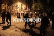 Επεισόδια στα Εξάρχεια 28 συλλήψεις και 41 προσαγωγές