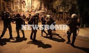 Επεισόδια στα Εξάρχεια: 28 συλλήψεις και 13 προσαγωγές