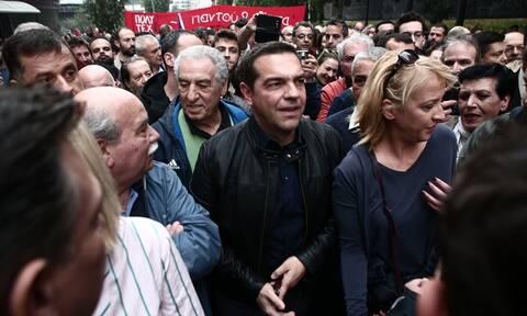 Σφοδρή κόντρα ΝΔ - ΣΥΡΙΖΑ για τον διαδηλωτή Αλέξη Τσίπρα