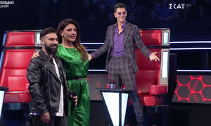 The Voice: Χαμός με τo «κλέψιμο» παικτών! Ο Ρουβάς «έφαγε άκυρο» και έμεινε άφωνος (Video-Photos)