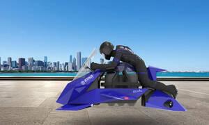 To Jetpack Aviaton Recreational Speeder είναι σαν να βγήκε από το Star Wars