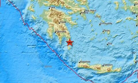 Σεισμός κοντά στη Νεάπολη Λακωνίας (pics)