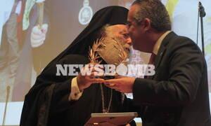 Ο Δήμος Παπάγου - Χολαργού τίμησε τον Πατριάρχη Αλεξανδρείας κ.κ. Θεόδωρο Β'