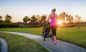 Γυμναστική για να χάσετε εύκολα τα κιλά της εγκυμοσύνης (vid)