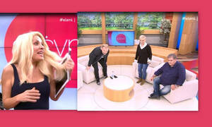 Ελένη: Απίστευτο σκηνικό! Άνοιξε το φόρεμά της και έφυγε… Τα έχασαν Ρώπα-Σπυρόπουλος-Σταρόβας