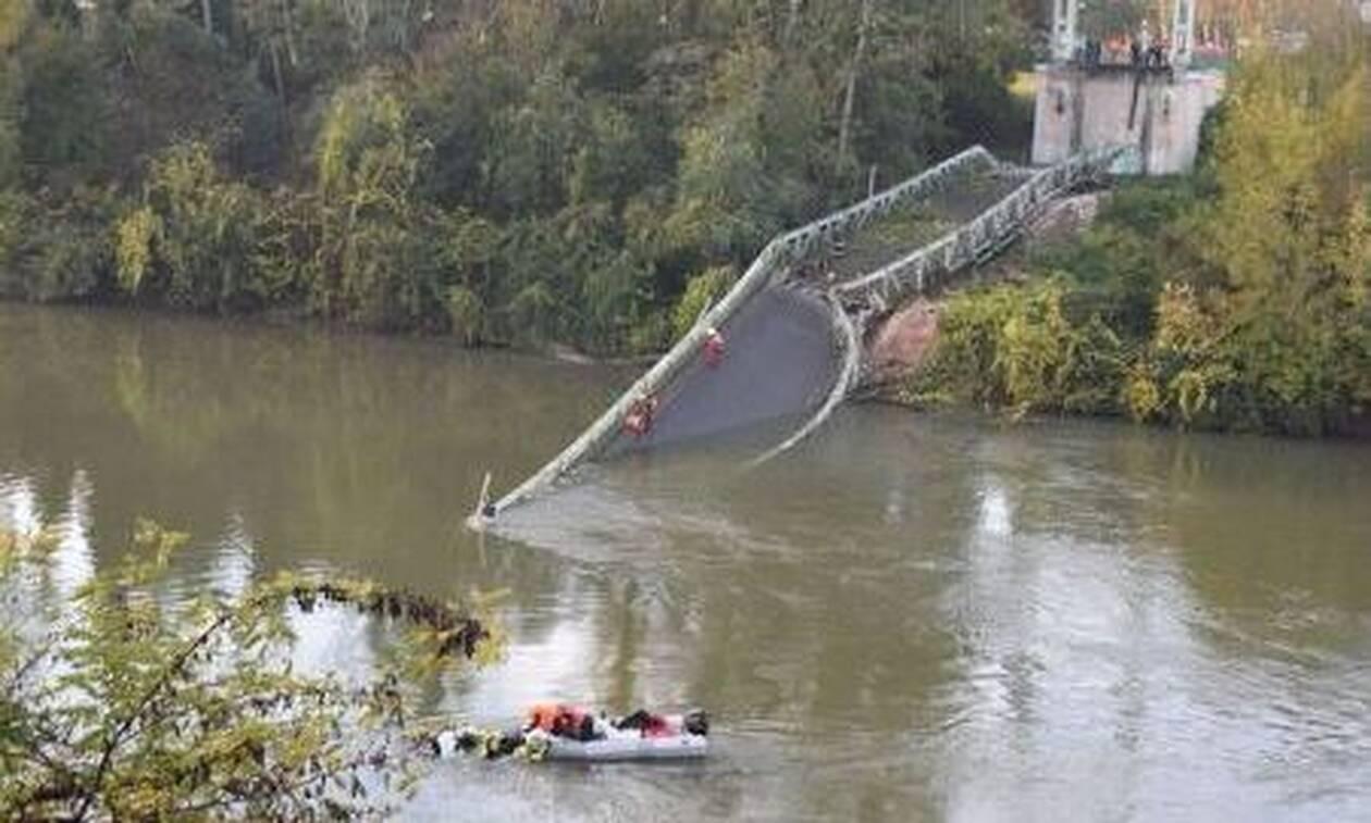 Φονική κατάρρευση γέφυρας στην Τουλούζη - Νεκρή 15χρονη, φόβοι για αρκετούς αγνοούμενους