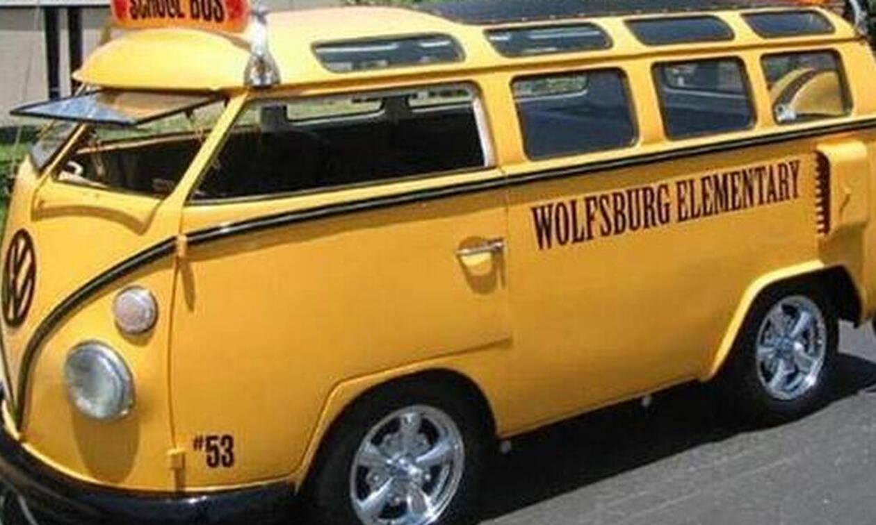 Ήξερες αυτή τη λεπτομέρεια για τα σχολικά λεωφορεία;