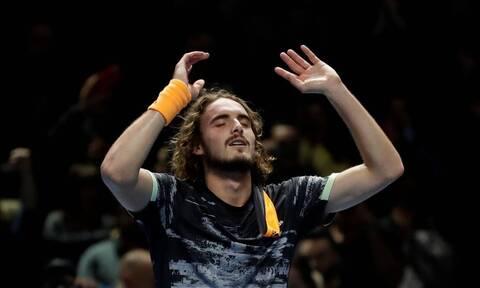 Τσιτσιπάς: Το έριξε… στο τραγούδι μετά τον θρίαμβο στο ATP (vid)