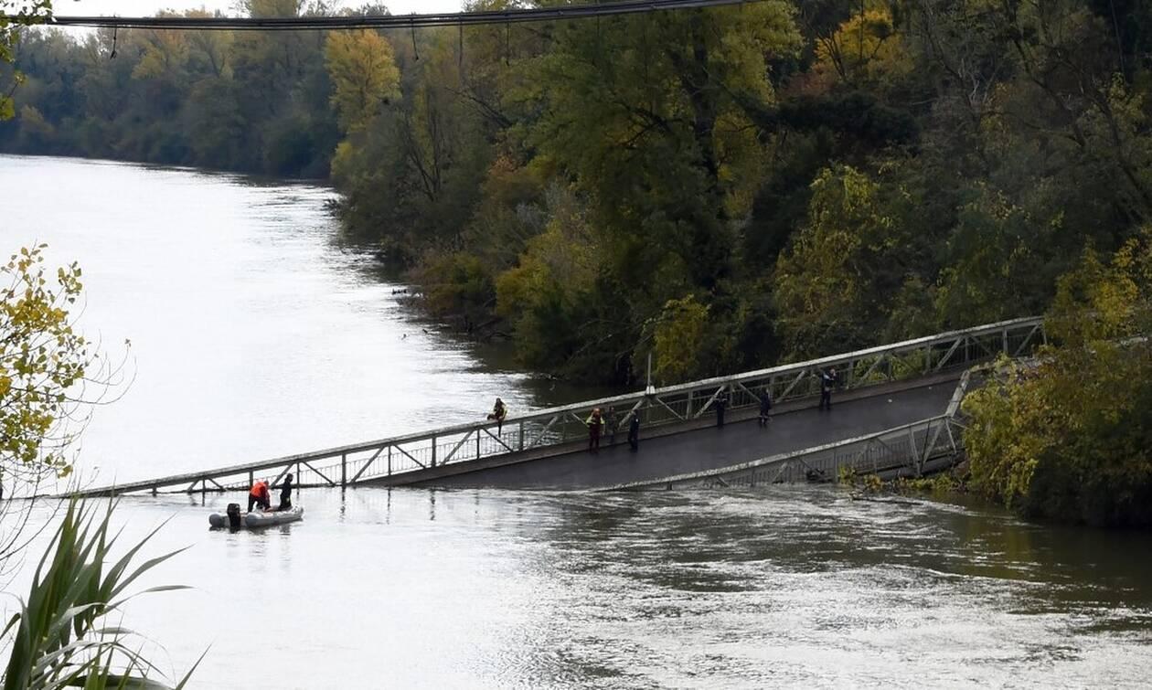 Γαλλία: Τους δύο έφτασαν οι νεκροί από την κατάρρευση γέφυρας στον ποταμό Ταρν
