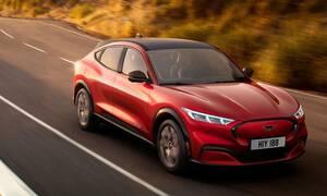 Νέα ηλεκτρική Ford Mustang Mach-E: Μέχρι 465 ίππους και αυτονομία έως 600 χιλιόμετρα
