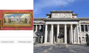 200η επέτειος του Μουσείου ντελ Πράδο: Δείτε το doodle της Google (pics)