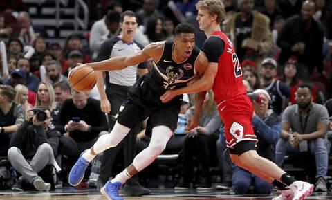 NBA: Μπακς χωρίς φρένα (photos+video)
