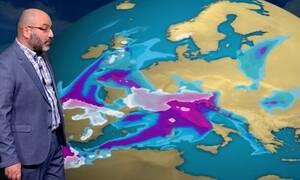 Καιρός - Αρναούτογλου: «Νέες βροχοπτώσεις, το ενδιαφέρον στο βαρομετρικό της επόμενης εβδομάδας»