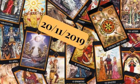 Δες τι προβλέπουν τα Ταρώ για σένα, σήμερα 20/11!