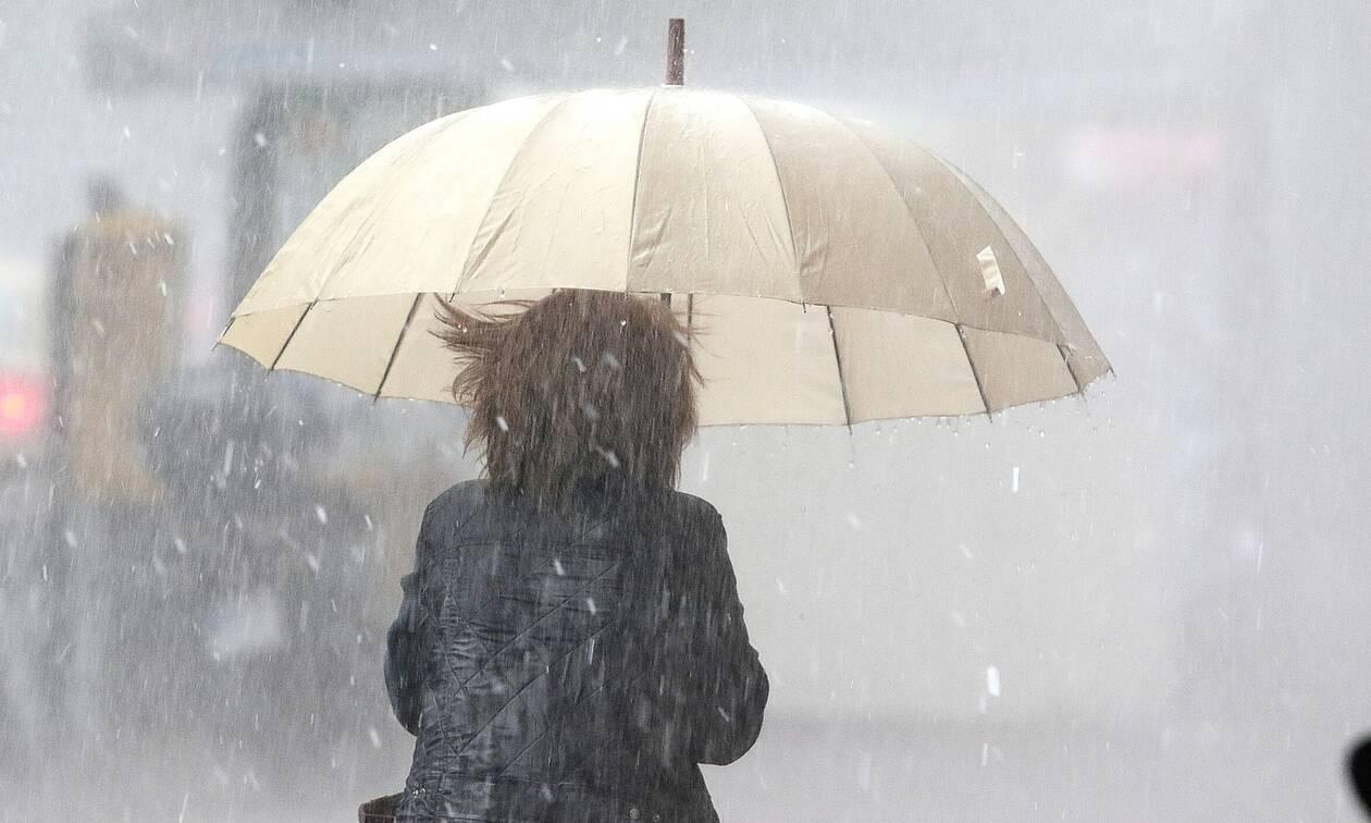 Έκτακτο δελτίο επιδείνωσης του καιρού: Ισχυρές βροχές, καταιγίδες και χαλάζι θα πλήξουν τη χώρα