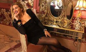 Η Κωνσταντίνα Σπυροπούλου έκανε έξοδο για διασκέδαση και μας άφησε με το στόμα ανοιχτό! (photos)