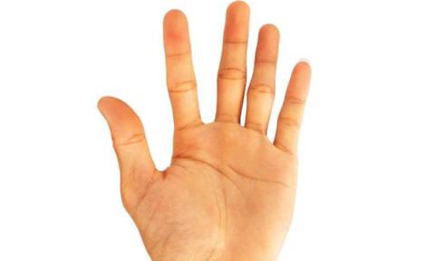 Το μήκος του μικρού σου δαχτύλου φανερώνει πολλά για σένα!