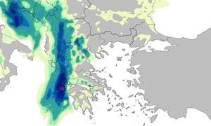 Καιρός ΤΩΡΑ: Μέτωπο ισχυρών καταιγίδων στο Ιόνιο - Έτσι θα χτυπήσουν τα φαινόμενα τις επόμενες ώρες
