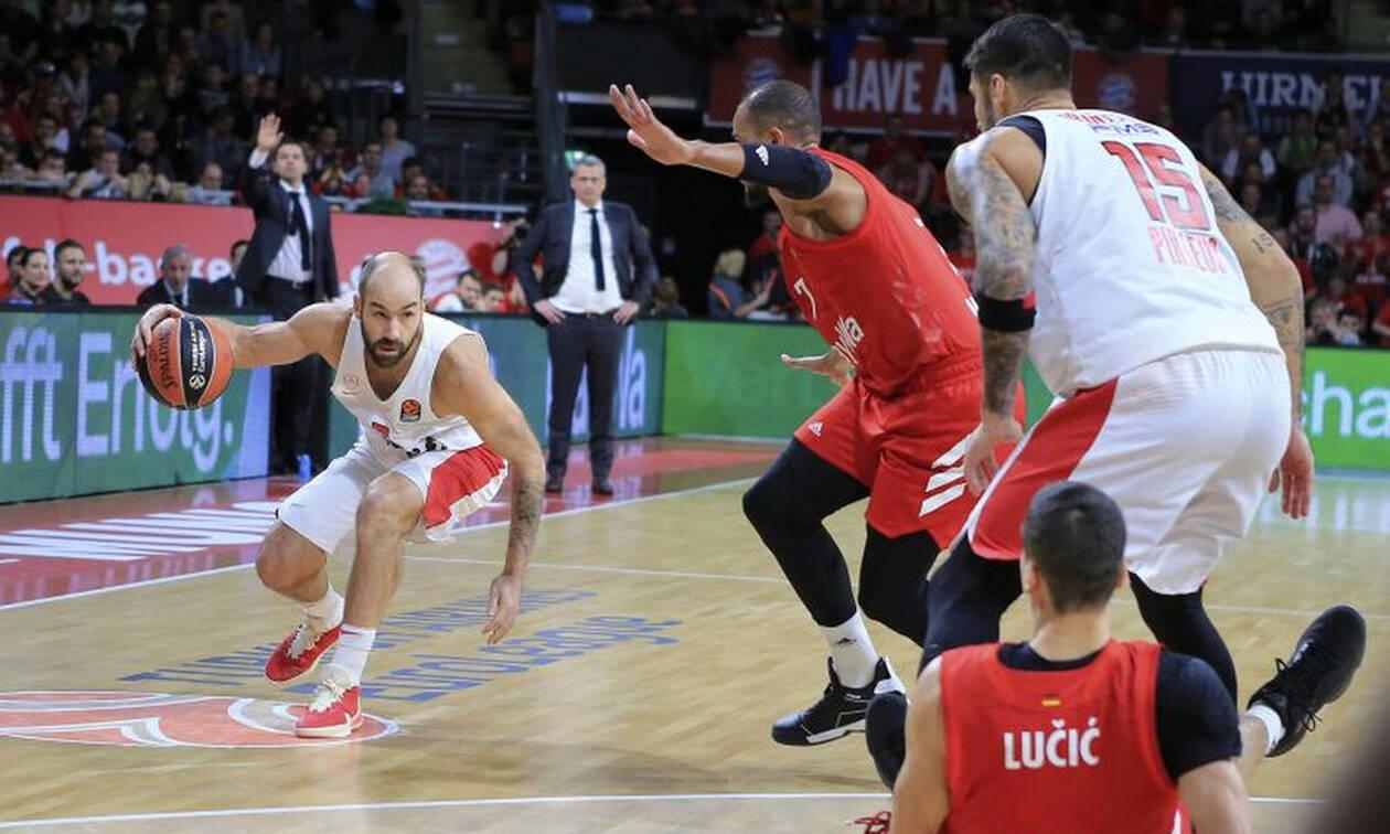 Euroleague: Η βαθμολογία μετά την ένατη αγωνιστική