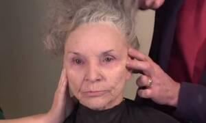 Γυναίκα 78 χρονών μεταμορφώνεται σε 50αρα μέσα σε λίγες ώρες (video)