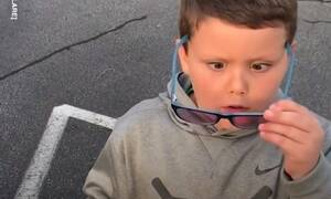 Ένας 6χρονος βλέπει για πρώτη φορά χρώματα - Η αντίδρασή του θα σας τρελάνει (vid)