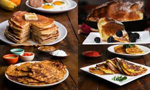 7 διαφορετικές συνταγές για να φτιάξετε αφράτα pancakes (vid)