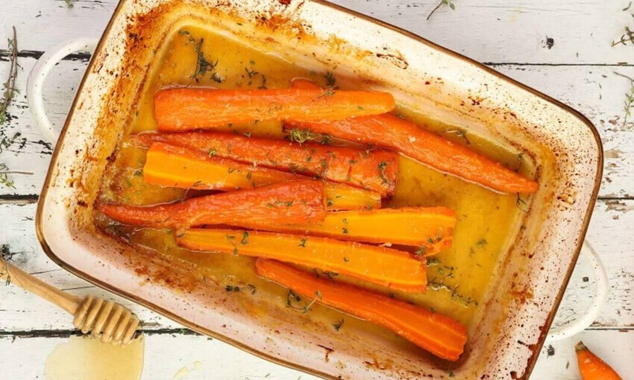 Η συνταγή της ημέρας: Ψητά καρότα με θυμάρι