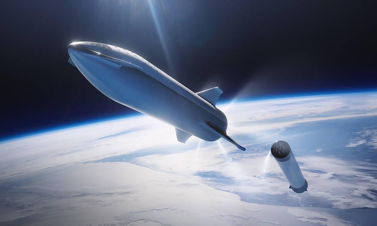 Έγινε... στάχτη το διαστημόπλοιο του Έλον Μασκ - Δείτε το video από την εκτόξευση